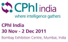 CPhI India Nov.30-Dec.02, 2011